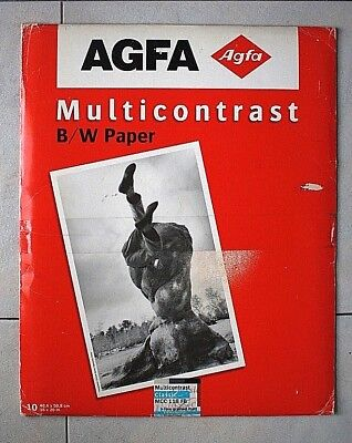 Agfa MCC 118  Fine Grained - 40x50 cm 10 sheets (sealed & unopened) !!!
