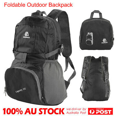 35L Light Foldable Waterproof Outdoor Sports Backpack Camping Hiking Travel Bag