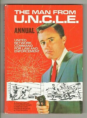 The Man from UNCLE Annual -  1966 - UNCLIPPED!!!
