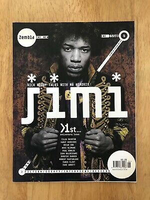 Zembla Magazine Issue 6. Jimi Hendrix.