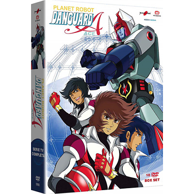 Box *** PLANET ROBOT DANGUARD (10 Dvd) *** sigillato