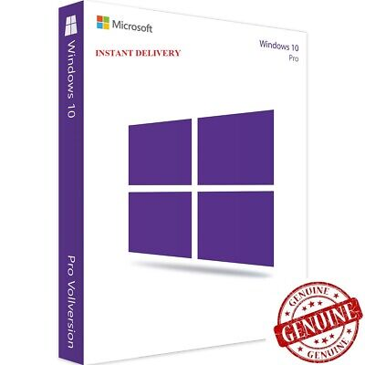 Windows 10 Pro Professional Activation [Key] Product Code Instant