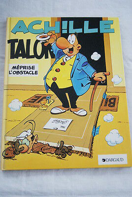 Achille Talon Meprise L'obstacle Greg Bd Dargaud 1984