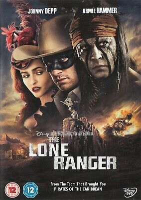 The Lone Ranger - Johnny Depp, Armie Hammer - Walt Disney - NEW Region 2 DVD