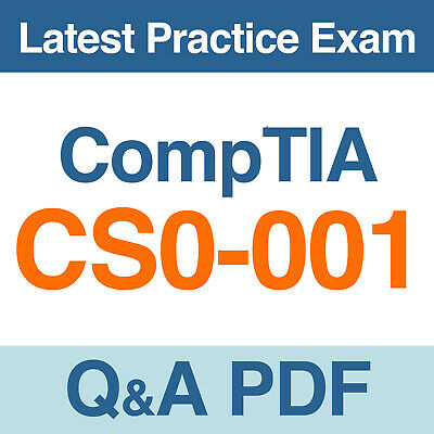 COMPTIA CYBER ANALYST SECURITY CSA CS0-001 Exam QA PDF/&Simulator