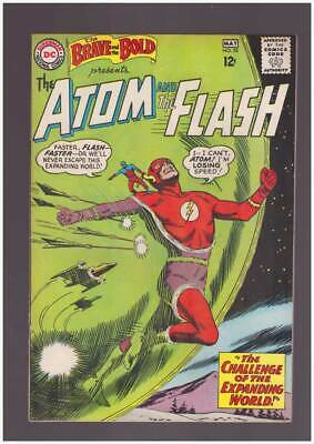Brave & the Bold # 53  The Atom and the Flash !  grade 5.5 scarce book !