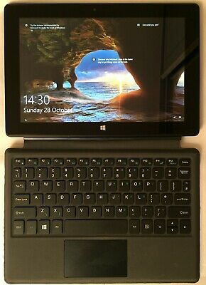 Linx 10v64 10.1 Windows 10 Tablet, Keyboard Dock, 64GB eMMC, 4GB SDRAM