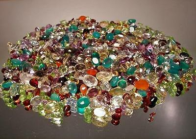 500+ Ct Mixed Gemstones Lot Loose Natural  Gem Stones Wholesale Mixed Gem Lot