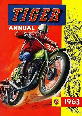 Uk Comics Tiger Annuals Digital Collection Of Boys' Adventure Books On Dvd