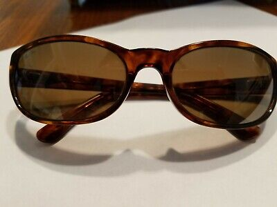 8b07d81bbc98d For- Parts  Maui Jim MJ-136-10 Tortoise Sunglasses- As Is
