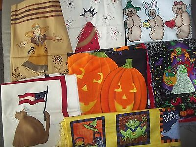 HOLIDAY PANEL Autumn HARVEST fall Cotton QUILT Fabric U-PICK Read for INFO