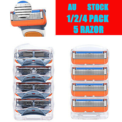 12 pieces Replacement Blades for Gillette Fusion Power ProGlide Shaving 5 Razors