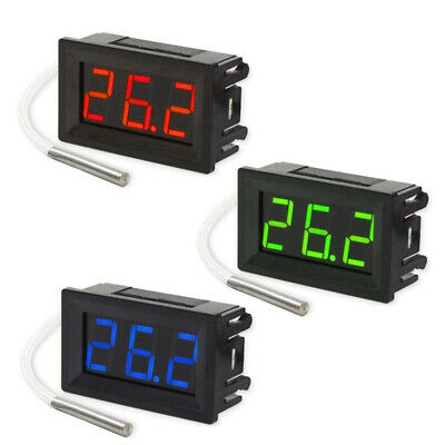 K-type Digital Thermometer Thermocouple -30 ~ 800 Degree DC 12V High Quality