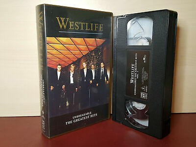Westlife - Unbreakable - The Greatest Hits - PAL VHS Video Tape (H161)