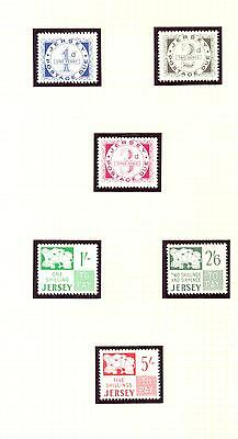 Jersey 1969 Pre-Decimal Postage Due set. MNH Mint. One postage for multi buys...