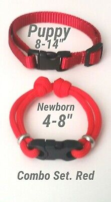 FURBABIES! Puppy ID Whelping Collars/Bands. (Newborn + Puppy Size!!)  Colors +++