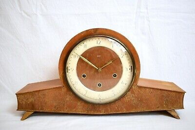 1950s SMITHS WESTMINSTER WHITTINGTON CHIME MID CENTURY VINTAGE MANTEL CLOCK