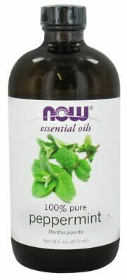Now Foods PEPPERMINT OIL Aromatherapy 100% Pure Essential Diffuser Oil 16 fl oz