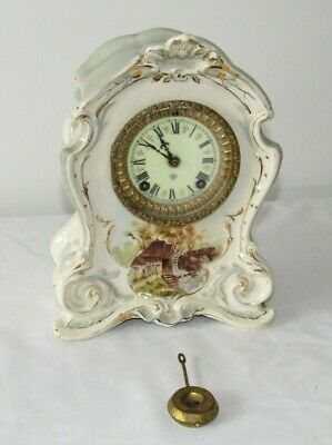 Very Nice American Royal Bonn Ansonia Striking Mantle Clock