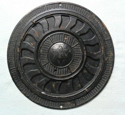 "Vintage Antique (Victorian Style ""Cast Iron Floor Heating Register"" 3 Piece)"