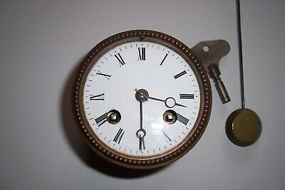 french clock movement japy freres complete working -used-spares