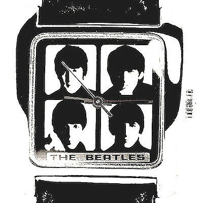 Beatles, Apple Collectible Fossil, Mans Unworn Boxed Watch, Numbered Of'/5K $169