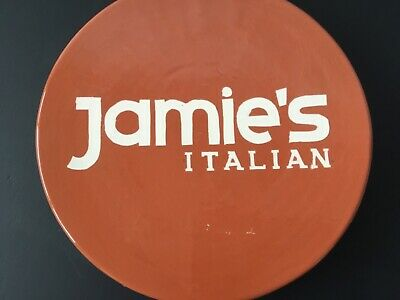 Jamie Oliver Pizza, Cake, Terracota Style Round Pedestal Plate