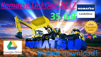 Komatsu LinkOne 2017 35GB EPC Electronic Parts Catalog