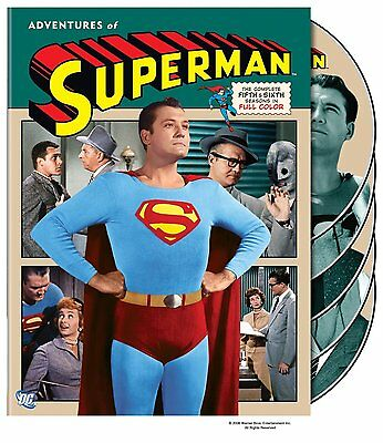 Adventures of Superman - The Complete Series 5+6 (1957-1958) * UK Compatible DVD