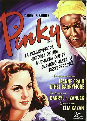 Pinky (1949) * Jeanne Crain, Ethel Barrymore * Region 2 (UK) DVD New
