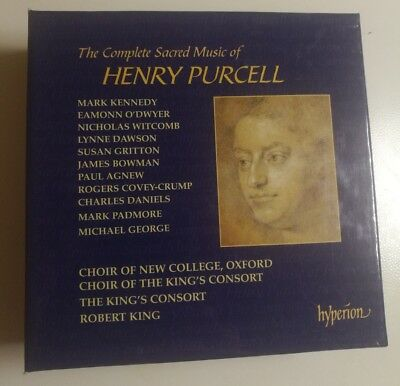 Henry PURCELLCOMPLETE SACRED MUSIC 11CD LIKE NEW MINT