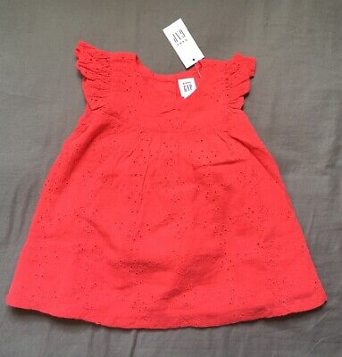 e1e5abe6912b BABY GAP BABY Girl Cotton Summer Dress 6-12 months New With Tags ...