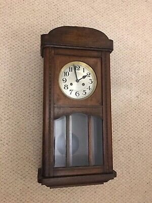 Vintage Real Antique Early 1900s Wall Clock