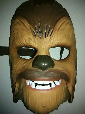 Star Wars Movie Roaring Chewbacca Wookiee Sounds Mask Ages 5 and up