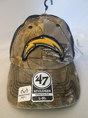 purchase cheap 47610 571f2 San Diego Chargers Hat NFL  47 Huntsman Camo Cap