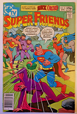DC Comics Super Friends #31 (Superman Justice League cartoon) April 1980