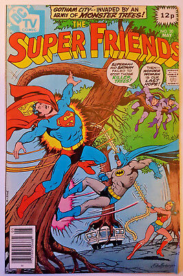 DC Comics Super Friends #20 (Superman Justice League cartoon) May 1979