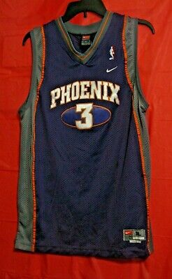 70c179c4d670 STEPHON MARBURY 3 Phoenix Suns NBA Purple Stitched Basketball Jersey XL+2  Nike