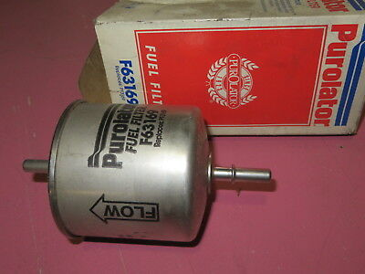 gas filter nos fuel filter purolator # f63169 new unused w/o clips