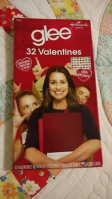 Hallmark Smiley Face 32 Valentines with Stickers and Teacher Card