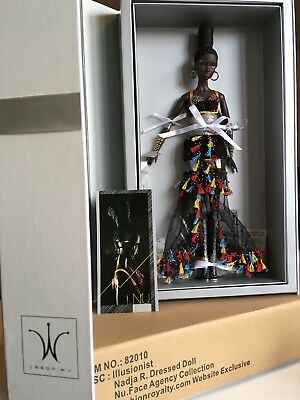 ILLUSIONIST NADJA DRESSED DOLL - FASHION ROYALTY Nu. Face Agency Collection-NRFB