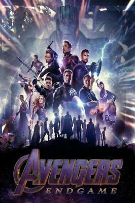 Avengers Endgame 2019 Movie End Game Film 8x12 24x36 Hot Poster Y209