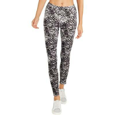 1d744eb8d6270 BCBGeneration Womens Gray Yoga Fitness Running Athletic Leggings S BHFO 4314
