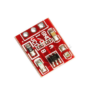 10PCS TTP223 Touch Key Module Capacitive Settable Self-lock/No-lock Switch