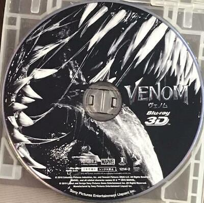 Venom 3D Blu-Ray Only Marvel