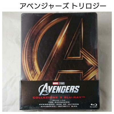 Avengers Trilogy Steelbook Blu-Ray