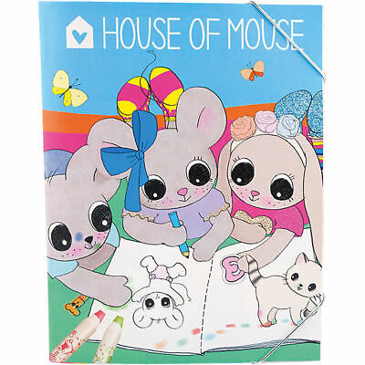 Depesche -House Of Mouse- Mal/Stickerbuch