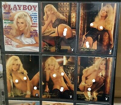 Playboy Jenny Mccarthy Set Completo 6 Card 1994 Playmate Of The Year