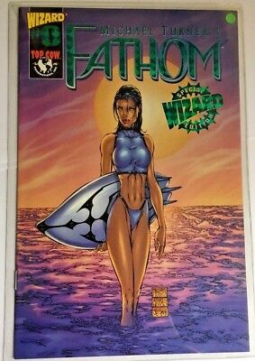 Michael Turner's Fathom #0 Wizard Green Foil Special Edition NM/Mint