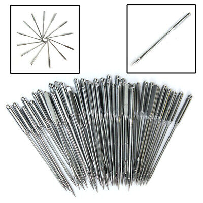 50Pcs Home Domestic Household Sewing Machine Needles For Singer Brother Janome